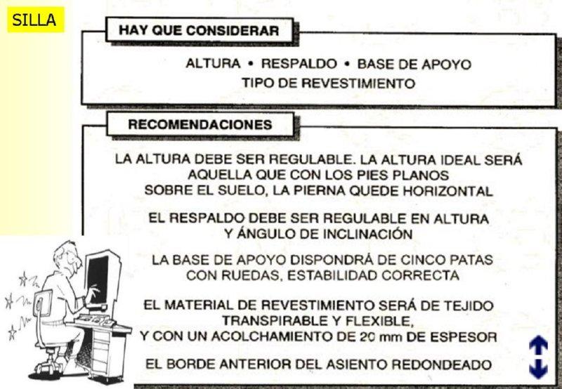 Introduccion ergonomia for Caracteristicas de la ergonomia