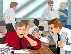 Animaciones gif prevencion 02 imagenes fotos prevencion for Dibujo de una oficina moderna