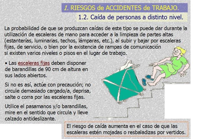 Limpieza01 for Normas de seguridad para escaleras fijas