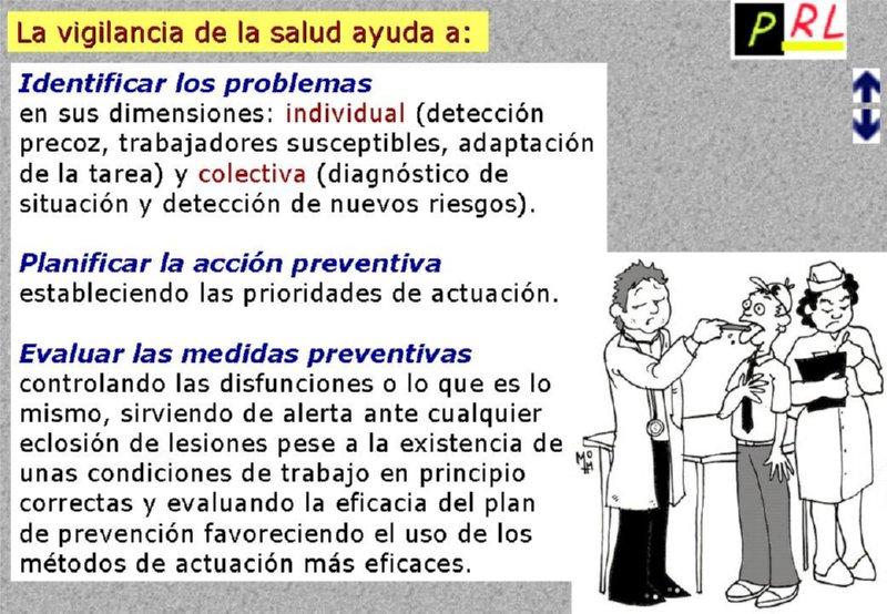 vigilancia salud: