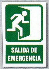Seales panel imagenes emergencia lucha contra incendios for Precio de puertas salida de emergencia